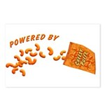 Powered By Cheesy Puffs Postcards (Package of 8)