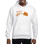 Powered By Cheesy Puffs Hooded Sweatshirt