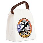 Prop 64 SUCKS Canvas Lunch Bag