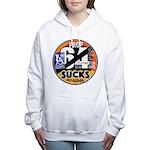 Prop 64 SUCKS Women's Hooded Sweatshirt