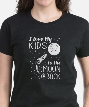 I Love My Kids to the Moon and Back T-Shirt