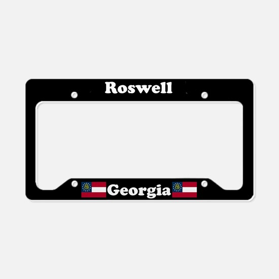 Roswell, GA License Plate Holder