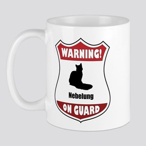 Nebelung On Guard Mug