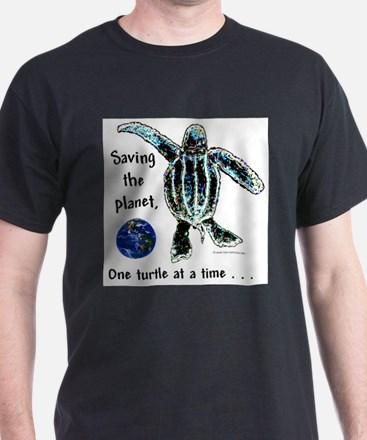 ONE TURTLE AT A TIME (color choice) T-Shirt