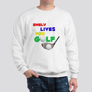 Emely Lives for Golf - Sweatshirt