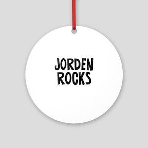 Jorden Rocks Ornament (Round)
