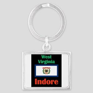 Indore West Virginia Keychains