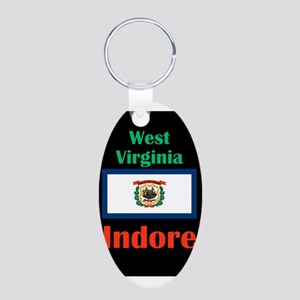 Indore West Virginia Keychains