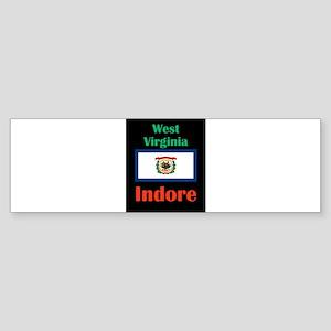Indore West Virginia Bumper Sticker