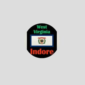 Indore West Virginia Mini Button