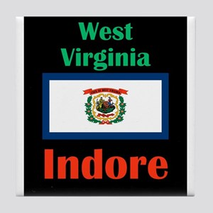 Indore West Virginia Tile Coaster