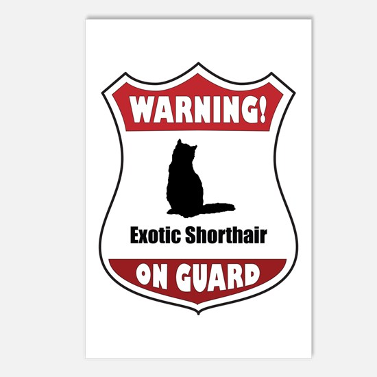 Shorthair On Guard Postcards (Package of 8)