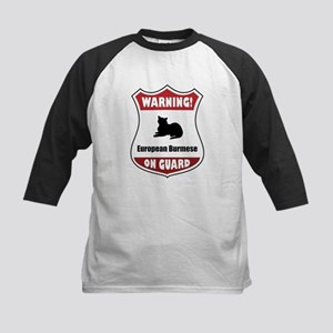 Burmese On Guard Kids Baseball Jersey