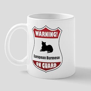 Burmese On Guard Mug