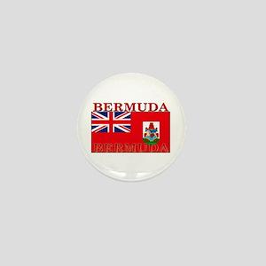 Bermuda Flag Mini Button