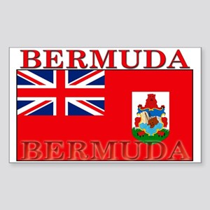 Bermuda Flag Rectangle Sticker