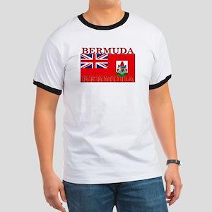 Bermuda Flag Ringer T