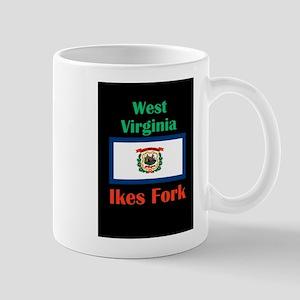 Ikes Fork West Virginia Mugs