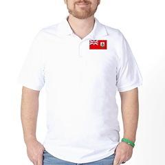 Bermuda Blank Flag Golf Shirt