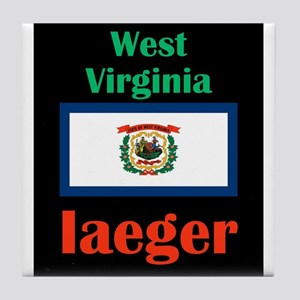 Iaeger West Virginia Tile Coaster