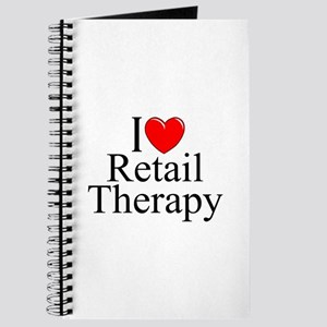 """I Love Retail Therapy"" Journal"