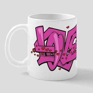 Graffiti Love Mug