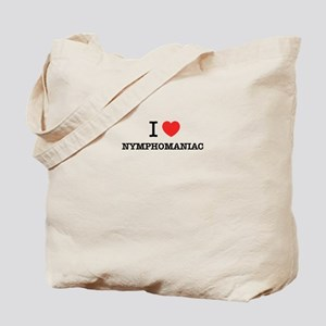 I Love NYMPHOMANIAC Tote Bag
