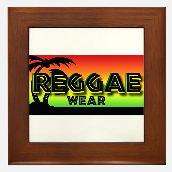 Reggae Wear Framed Tile