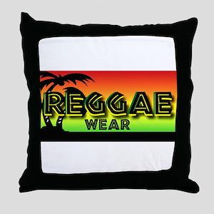 Reggae Wear Throw Pillow