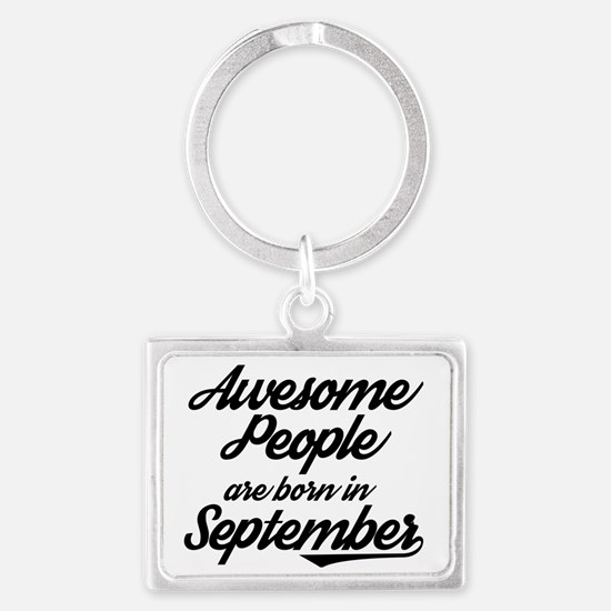 Unique Born awesome Landscape Keychain