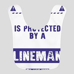 Lineman Polyester Baby Bib