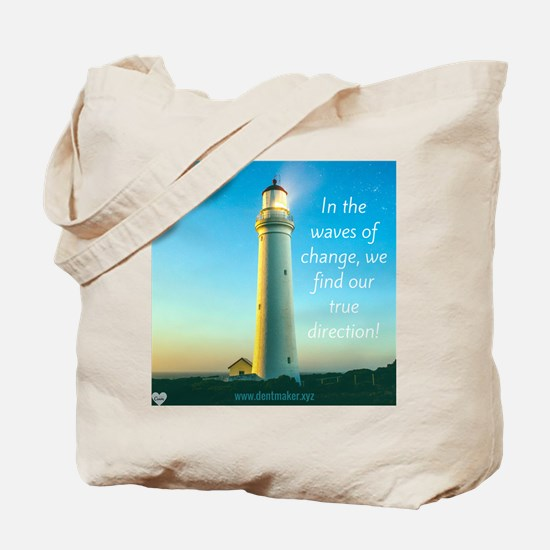 Funny Change leadership Tote Bag
