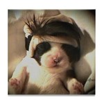 The Animal Lover, Dog,Shih Tzu Lover Tile Coaster