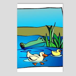 Alligator_1 Postcards (Package of 8)