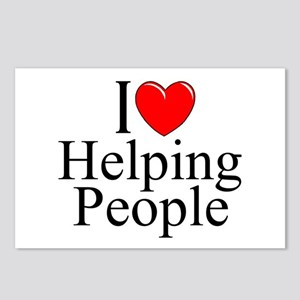 """I Love Helping People"" Postcards (Package of 8)"