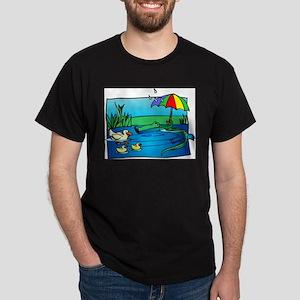 SNEAKY GATOR Dark T-Shirt