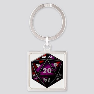 D20 color Keychains