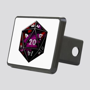 D20 color Rectangular Hitch Cover