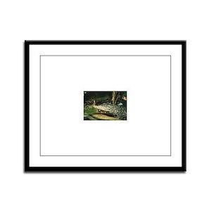 ALLIGATOR_3 Framed Panel Print
