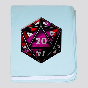 D20 color baby blanket