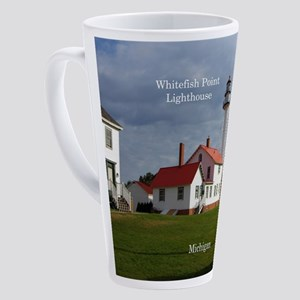 Whitefish Point Lighthouse 17 Oz Latte Mug