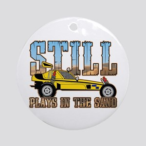 Still Plays in the Sand Dune Buggy Ornament (Round