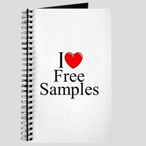 """I Love Free Samples"" Journal"