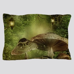 Enchanted Mushrooms Pillow Case