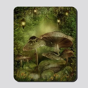 Enchanted Mushrooms Mousepad