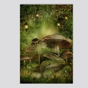 Enchanted Mushrooms Postcards (Package of 8)
