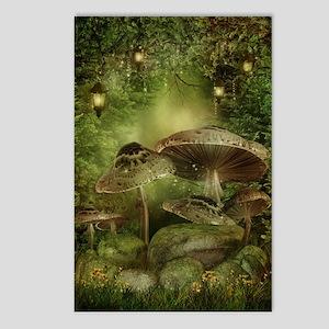 Enchanted Mushrooms Postcards (Package of 8)