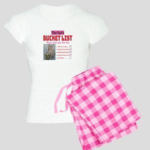 Cat's Bucket List Pajamas