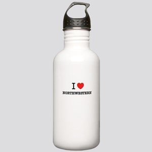 I Love NORTHWESTERN Stainless Water Bottle 1.0L