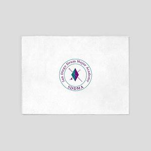 SDDMA Logo 5'x7'Area Rug
